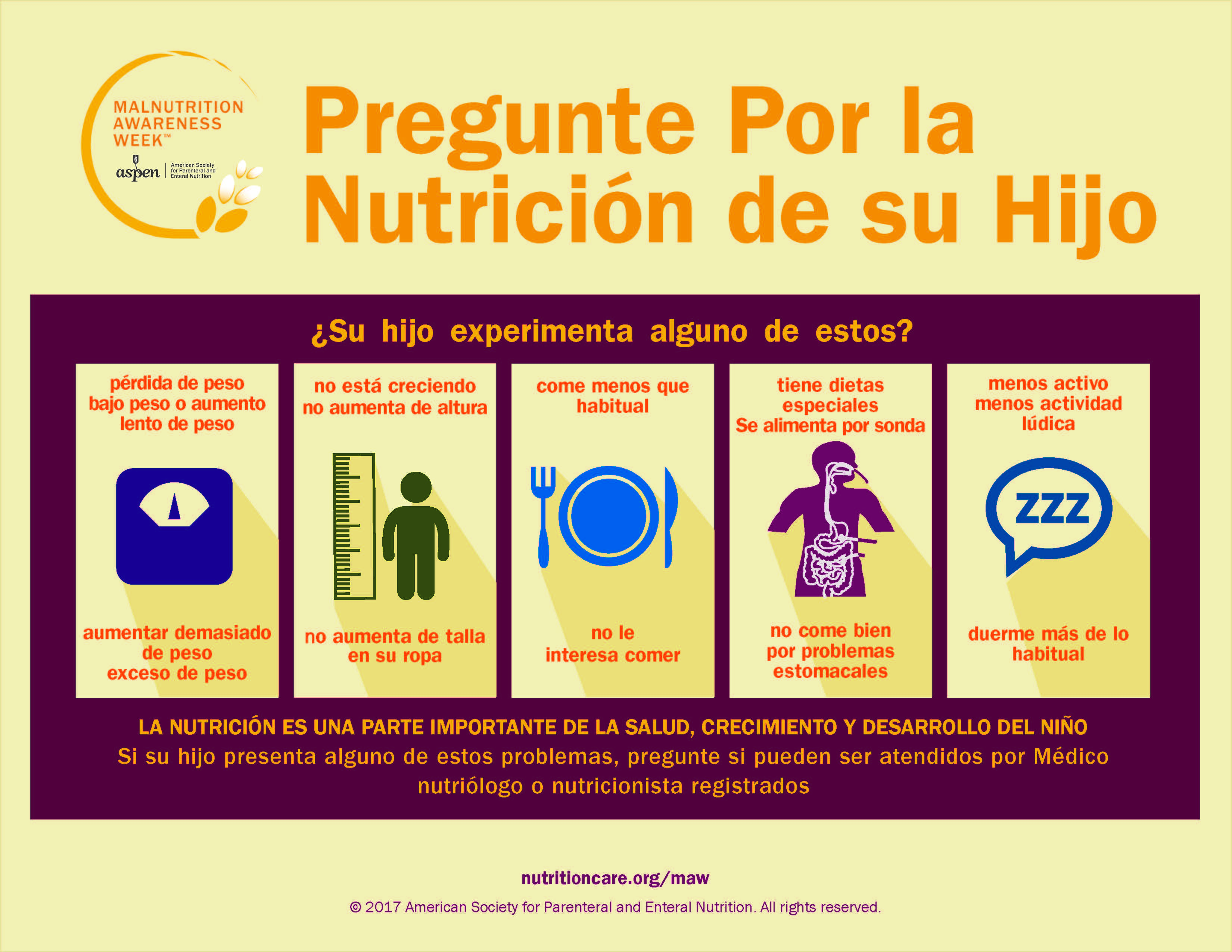 2016 Ask About Your Childs Nutrition Spanish