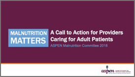 Malnutrition Matters Adult