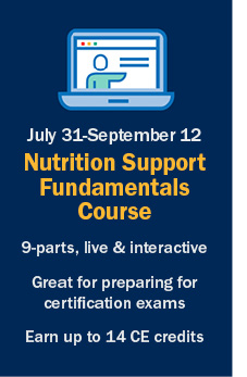 ASPEN | Nutrition Support Fundamentals Course